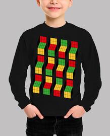 Sheldon Cooper - Ilusión óptica cubo Rubik