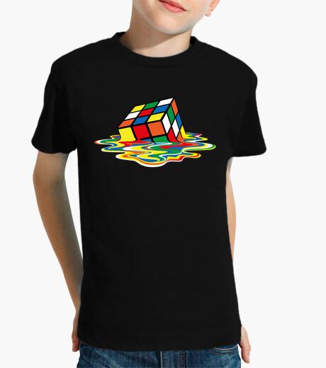 Vêtements enfant sheldon cooper - rubik cube fondu