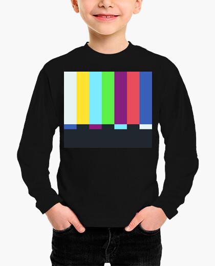 Ropa infantil Sheldon Cooper - TV Color barras