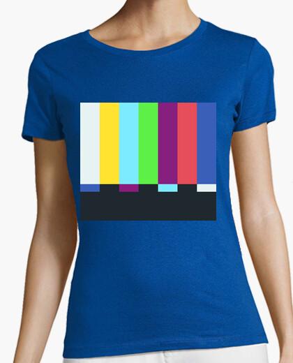 T-shirt sheldon cooper - tv color barre