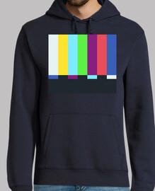 sheldon cooper - tv color bars