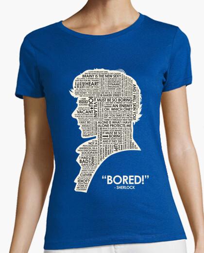 Camiseta SHERLOCK frases