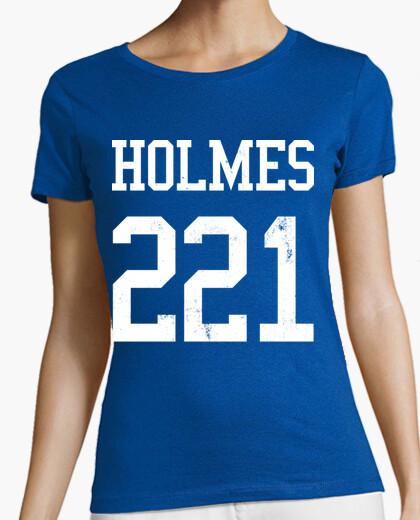 Camiseta Sherlock Holmes 221