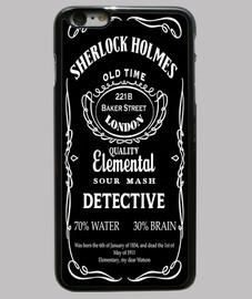 Sherlock Holmes Ingles Funda iPhone6+