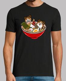 Shetl chien and chien de berger ramen