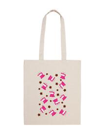 Shinchan Cookies Mini Bolsa tela 100% algodón