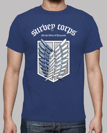 Shingeki No Kyojin Survey Corps - Blanco/Color