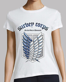shingeki no kyojin survey corps - blue /