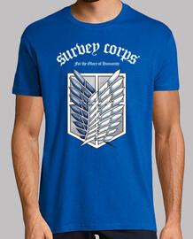 Shingeki not kyojin survey corps - white /