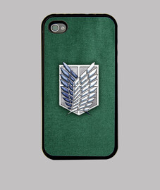 shingeki survey corps fabric texture - case