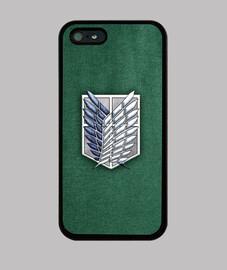 shingeki survey corps fabric texture - case