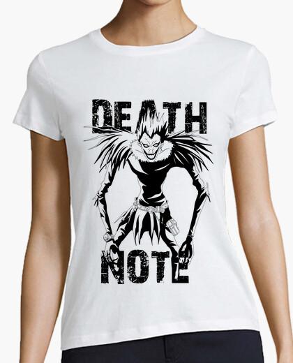 Camiseta shinigami ryuk - nota de la muerte