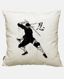 shinobi t-shirt ninja black japanese cu