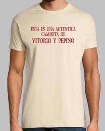 shirt authentique avec vitorio et de concombre