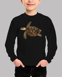 shirt baby turtle tortoise (eretmochelys imbricata)