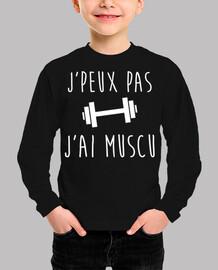shirt bodybuilding jpeux not jai muscu