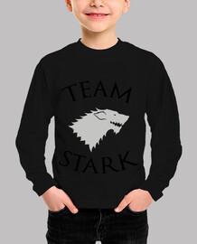 shirt child stark team - game of thrones
