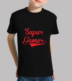 shirt child super gamer