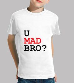 shirt child u mad bro?