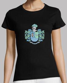 shirt de  femme  bouclier nom rivière
