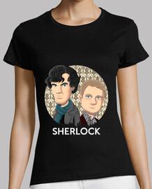 shirt de  femme  sherlock