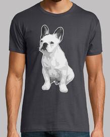 shirt de bouledogue français