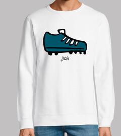 shirt de chaussure de football dessin a