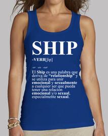 shirt de définition femme de navire