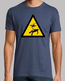 shirt de drones de danger