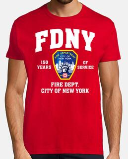 shirt de fdny 150 ans mod.2