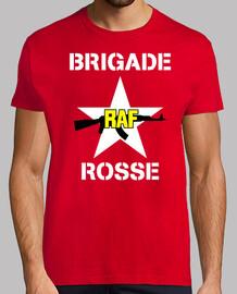 shirt de la brigade de mod.07 raf rosse