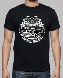 shirt de la musique rockabilly cru Rocker cru rock and roll USA