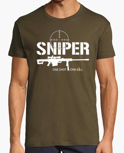Tee-shirt shirt de sniper mod.1