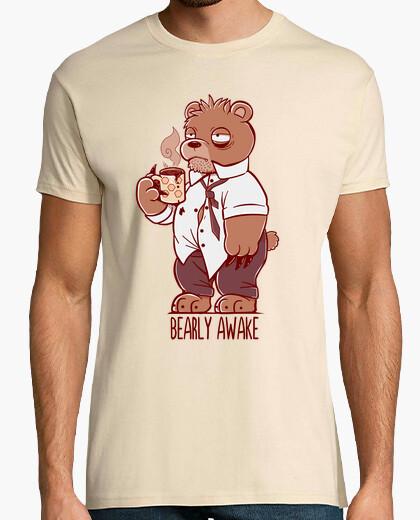 Tee-shirt shirt des hommes - bearly éveillé