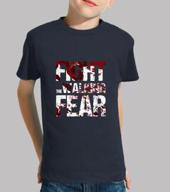 shirt enfant en bas âge à combattre la peur marche
