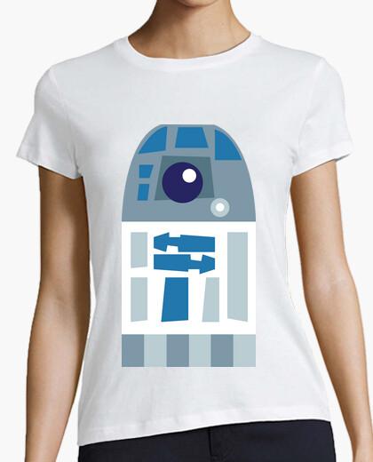 Tee-shirt shirt femmes - r2d2