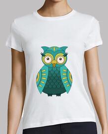 shirt green owl