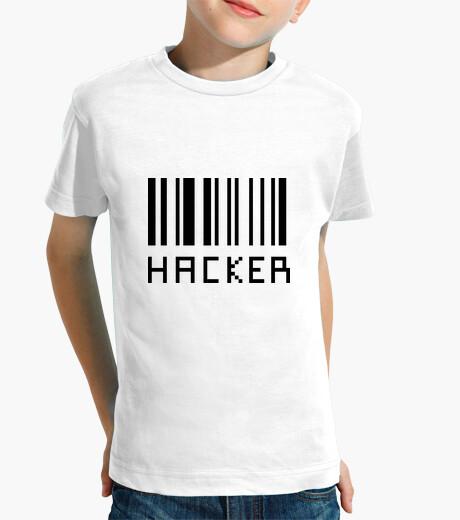 Kinderbekleidung shirt hacker - aussenseiter - hacking