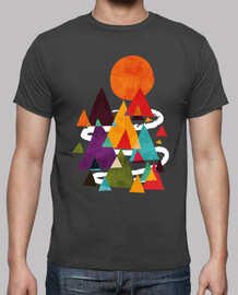 shirt hipster mountains
