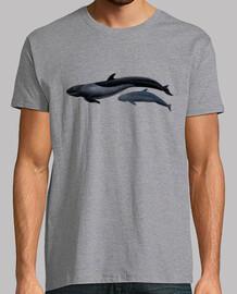 shirt homme de baleine faux tueur