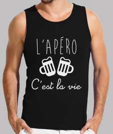 shirt humor funny alcohol lapéro this is life