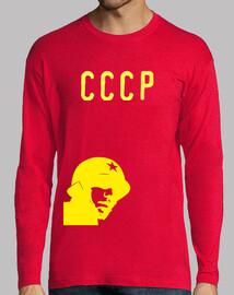 Shirt jaune cccp soldat