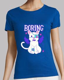 shirt mignon effrayant anime chat menhera chaton