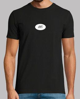 shirt noir en note mon
