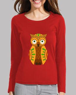 shirt pastel hibou