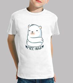 shirt Pilz bär Umamarmung