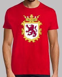 shirt rouge royaume bouclier au lion