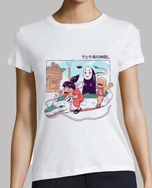 shirt shonen spiritueux femme