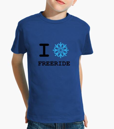 Shirt ski - snowboard - mountain children's clothes