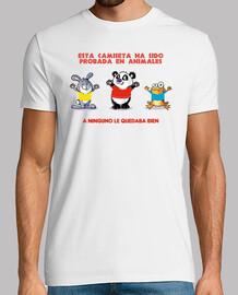shirt testé sur les animaux
